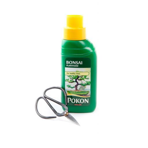 Bonsai liquid feed 250ml  + Scissors