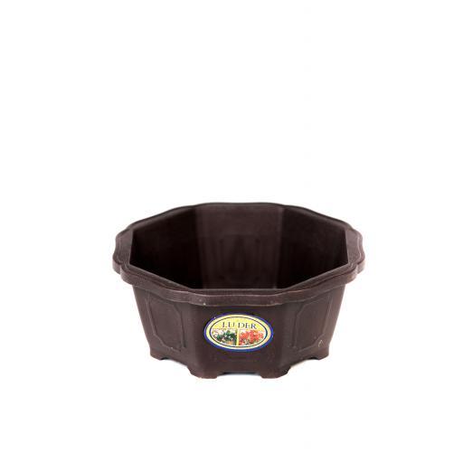 1 x 15cmx15cmx6cm Plastic Pot
